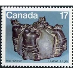 canada stamp 836 building an igloo 17 1979