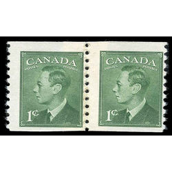 canada stamp 297re pa king george vi 1 1950