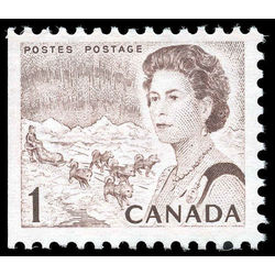 canada stamp 454eiii queen elizabeth ii northern lights 1 1971
