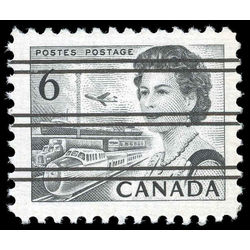 canada stamp 460fxxi queen elizabeth ii transportation 6 1972