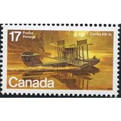 canada stamp 843 curtiss hs 2l 17 1979