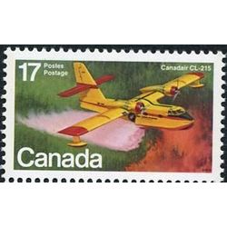 canada stamp 844 canadair cl 215 17 1979