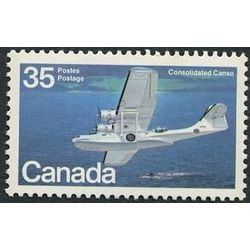 canada stamp 846 consolidated canso 35 1979