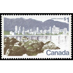 canada stamp 599aiii vancouver 1 1977