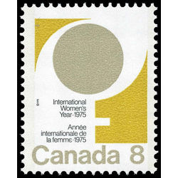 canada stamp 668i female symbol 8 1975