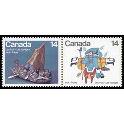 canada stamp 770aii inuit travel 1978