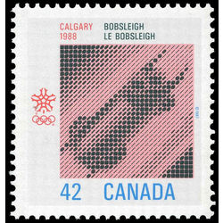 canada stamp 1131ii bobsleigh 42 1987