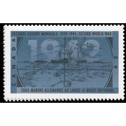 canada stamp 1451i u boats offshore 42 1992