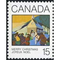 canada stamp 870 christmas morning 15 1980