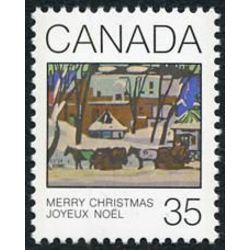 Canada stamp 872 mcgill cab stand 35 1980