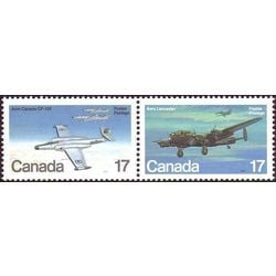 Canada stamp 874a military aircraft 1980