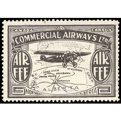 canada stamp c air mail cl48a commercial airways ltd 10 1930