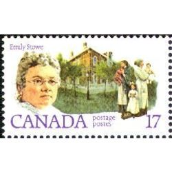 Canada stamp 879 emily stowe 17 1981