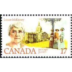 Canada stamp 880 louise mckinney 17 1981