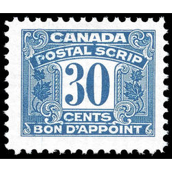 canada revenue stamp fps52 postal scrip third issue 30 1967