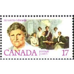 Canada stamp 882 henrietta edwards 17 1981