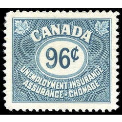 canada revenue stamp fu44 unemployment insurance stamps 96 1955