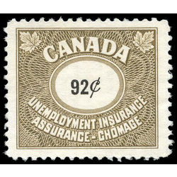 canada revenue stamp fu76 unemployment insurance stamps 92 1960