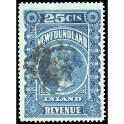 canada revenue stamp nfr3 queen victoria 25 1898