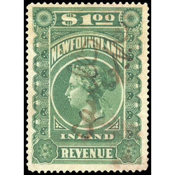 canada revenue stamp nfr6 queen victoria 1 1898