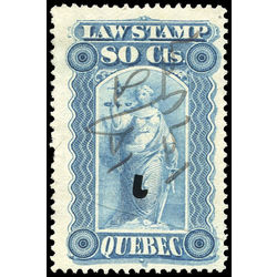 canada revenue stamp ql41 law stamps 80 1893