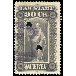 canada revenue stamp ql42 law stamps 90 1893