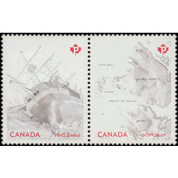 canada stamp 2852a the franklin expedition 2015