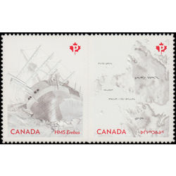 canada stamp 2855i the franklin expedition 2015