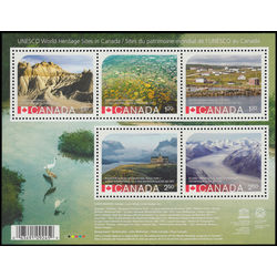 canada stamp 2857 unesco world heritage sites in canada 8 60 2015