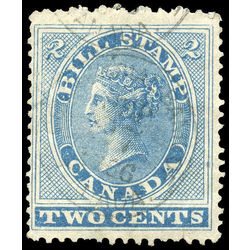 canada revenue stamp fb02 first bill issue 2 1864