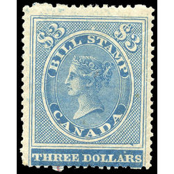 canada revenue stamp fb17 first bill issue 3 1864