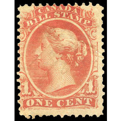 canada revenue stamp fb18 second bill issue 1 1865