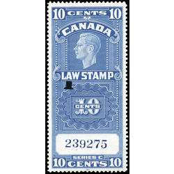 canada revenue stamp fsc21 george vi 10 1938