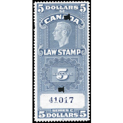 canada revenue stamp fsc26a george vi 5 1938