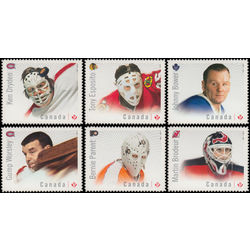 canada stamp 2867 72 great canadian goalies 2015