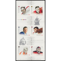 canada stamp 2872a great canadian goalies 2015
