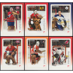 Canada stamp 2873 8 great canadian goalies 2015