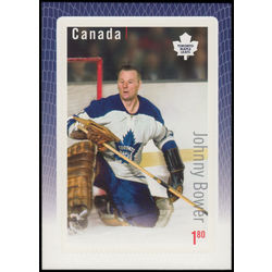 Canada stamp 2875 johnny bower 1 80 2015