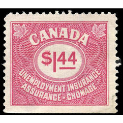 canada revenue stamp fu79 unemployment insurance stamps 1 44 1960