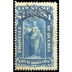 canada revenue stamp ql27 law stamps 4 1871