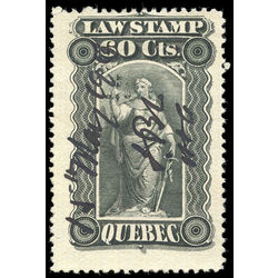 canada revenue stamp ql37 law stamps 60 1893