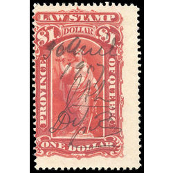 canada revenue stamp ql44 law stamps 1 1893