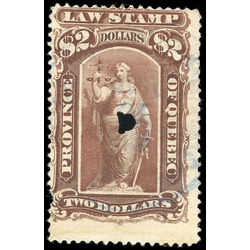 canada revenue stamp ql46 law stamps 2 1893
