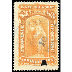 canada revenue stamp ql48 law stamps 3 1893