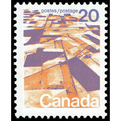 Canada stamp 596xiii prairies 20 1972