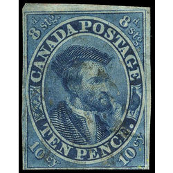 Canada stamp 7 jacques cartier 10d 1855 u f 003