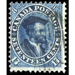 canada stamp 19ii jacques cartier 17 1859