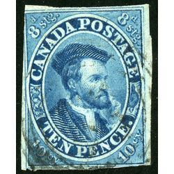 Canada stamp 7 jacques cartier 10d 1855 u f 004