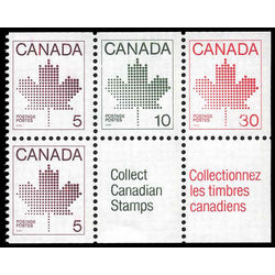 Canada stamp 945a booklet stamps 1982