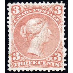 canada stamp 25 queen victoria 3 1868 m vf 002